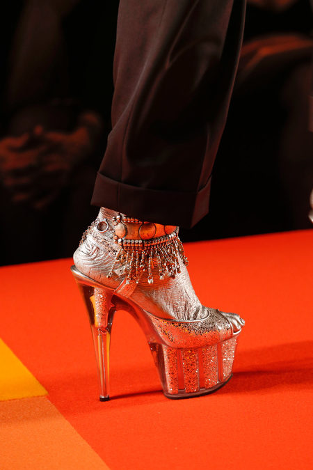 Jean Paul Gaultier SS13 Couture Payal Platforms on Exshoesme.com