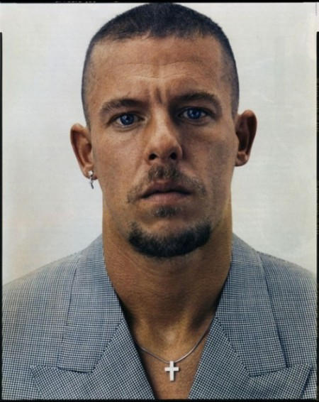 Lee Alexander McQueen photographed by Steven Klein for Vogue on Exshoesme.com