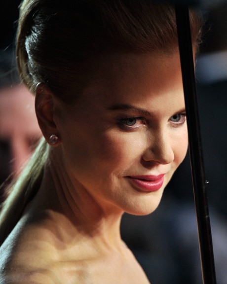 3 Nicole Kidman's  ponytail at the Cannes 2013 Opening Ceremony on Exshoesme.com. Photo Gareth Cattermole