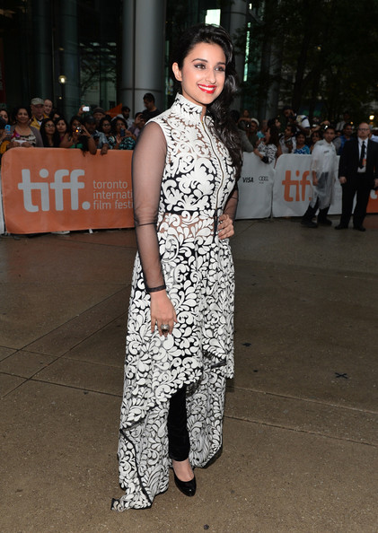 Parineeti Chopra in Pankaj and Nidhi at A Random Desi Romance premiere at the 2013 Toronto International Film Festival #TIFF13 on Exshoesme.com. Jason Merritt photo
