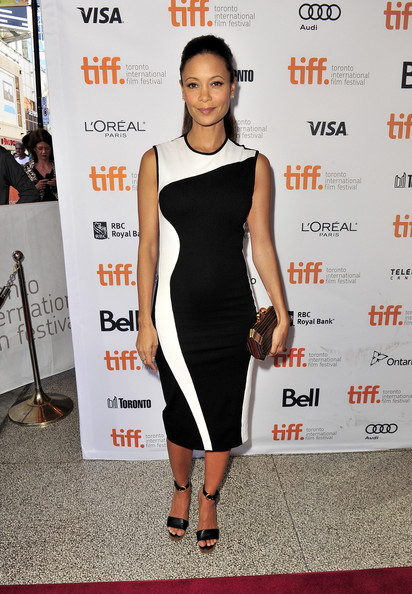 Thandie Newton in Stella McCartney a Half of a Yellow Sun premiere at the 2013 Toronto International Film Festival #TIFF13 on Exshoesme.com. Jason Merritt photo