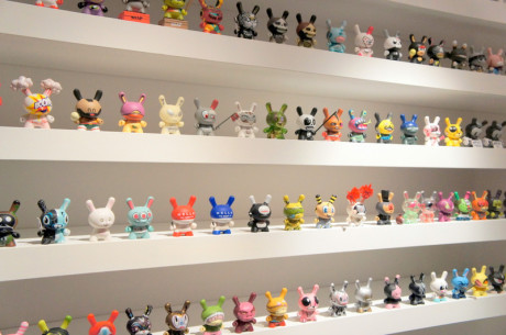 14. Full DUNNY collection from This Is Not A Toy Exhibition Photo by Jyotika Malhotra from Exshoesme.com