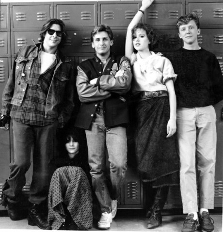 Breakfast Club Promo Shot BW on Exshoesme