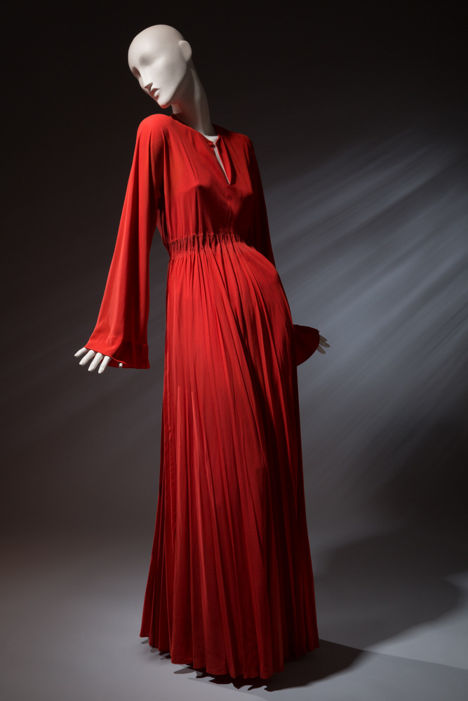 Valentina Full-length dress Rayon crepe Circa 1940, USA The Museum at FIT, 95.180.18 Gift of Igor Kamlukin from the Estate of Valentina Schlee